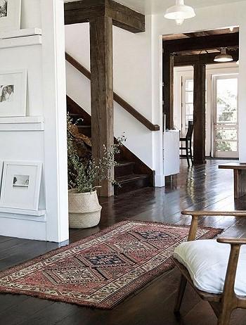 Винтажные ковры в интерьере