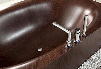 Ванна из древесины