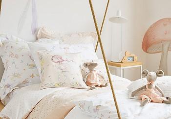 Интерьер спальни от Zara