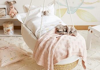 Подвесная детская кроватка