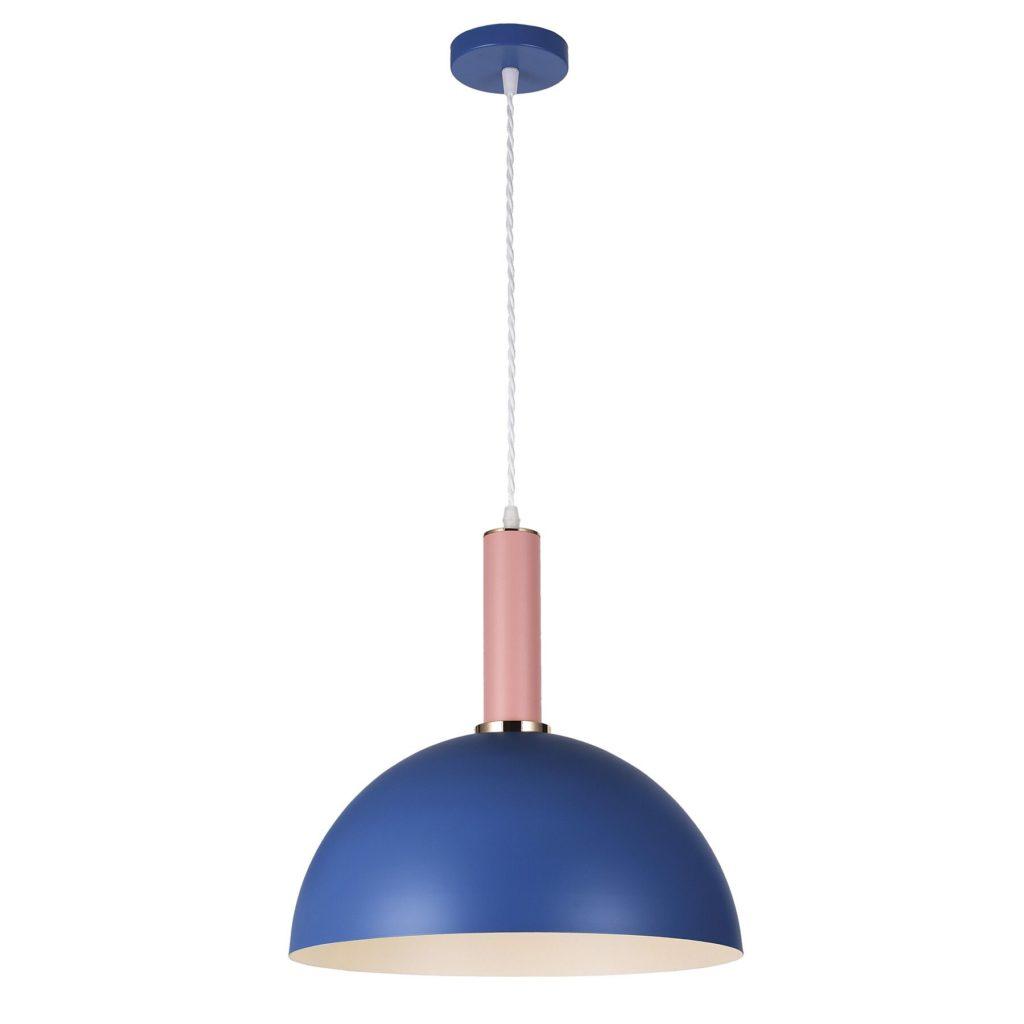Почему синие лампы так часто используются в декоре интерьера?